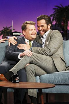 Chris on the The Late Late Show with James Corden (March 24, 2015)