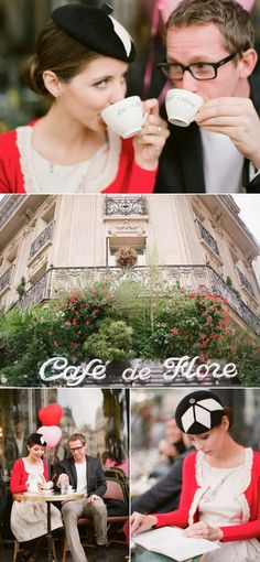 Cute ideas for an engagement session