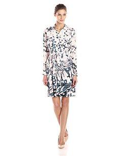 NYDJ Women's Kelsie Windblown Petals Shirt Dress, Multi, 8 NYDJ http://www.amazon.com/dp/B00R2MFAQ8/ref=cm_sw_r_pi_dp_EKQtvb0V9TP3Y
