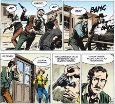 Tex Willer -kirjasto #30: Hurja kopla. #sarjakuva #sarjis #egmont