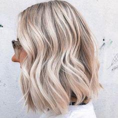 Medium Ash Blonde Hair, Ash Blonde Hair Balayage, Fall Blonde Hair Color, Blonde Hair Looks, Hair Color For Black Hair, Cool Ash Blonde, Ash Blonde Bob, Light Ash Blonde, Blonde Hair Over 50