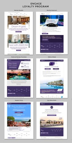 Starwood Preferred Guest   The SPG Loyalty Program covers many facets of the customer lifecycle from Member Benefits to Refer-a-Friend to opportunities to earn additional points. Look to the hospitality vertical for inspiration for your loyalty program.   Lauryl Kitson, Marketing Consultant Email Marketing Design, Email Design, Marketing Ideas, Digital Marketing, Web Design, Loyalty Marketing, Revenue Management, Welcome Emails, Wine Display
