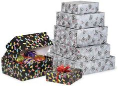 Nashville Wraps Decorative Shipping Boxes are a great choice as a gift basket alternative. They give your products a put-together look, and are easier to assemble than traditional gift baskets and more sturdy for shipping.