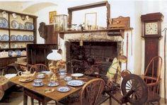 welsh farm kitchen | The Welsh Victorian farmhouse kitchen | Victoriana | Pinterest
