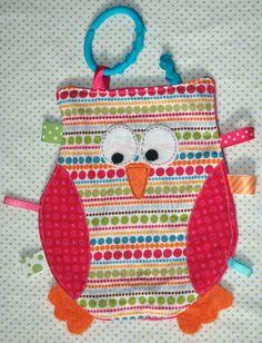 Cute owl taggie blanket!