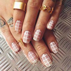 Minimal nails.