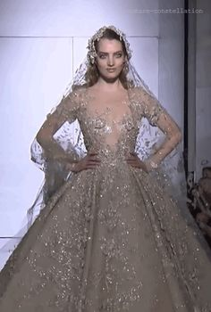 A Sky Full Of Sequins • Zuhair Murad Haute Couture Spring 2015 | The bride