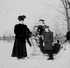 "Princess Irene of Hesse (Darmstadt) and By Rhine,Empress Alexandra Feodorovna of Russia and Grand Duchesses Olga and Maria Nikolaevna Romanova of Russia. ""AL"""