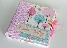 Fabric notebook cover