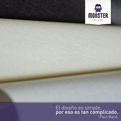 Paul Rand #monsterblinds #remodela #preciosaccesibles #diseño #tendencias #variedad #decoración #estilo #espacios #persianas #frases  #blinds #design #interiordesign