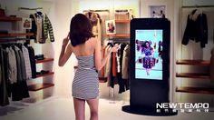 Los probadores virtuales: el fin de las largas colas en los vestidores de las tiendas de ropa. Y son más divertidos, como el New Tempo 3D Virtual Fitting