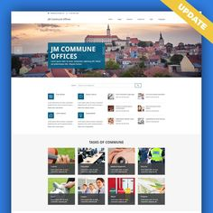 JM Commune Offices Joomla WCAG 2.0 compliant template was just updated. Let's take a closer look at most important features and improvements!  #features #Joomla #template #commune #offices #update #WCAG