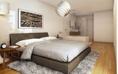 STOMEO Architektur Visualisierung - Zürich Bed, Furniture, Home Decor, Bathroom, Bed Room, Architecture Visualization, Real Estates, Floor Layout, Decoration Home