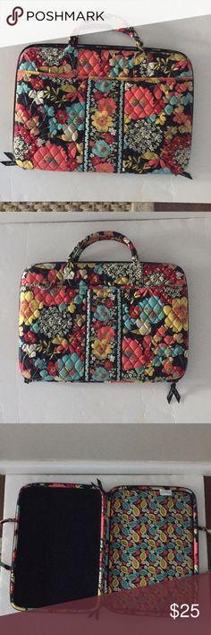 4d607b3cb08 Vera Bradley Lap top bag briefcase floral Excellent condition era Bradley  laptop bag. Can be