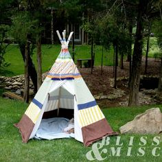 Outdoor Living – A DIY Teepee