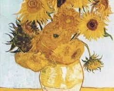"""VINCENT VAN GOGH """"The only time I feel alive is when I'm painting."""" Vincent Van Gogh was a Dutch Post-Impressionist Master whose innovative art influenced modern Expressionism, Fauvism, and early Abstract art. Art Van, Van Gogh Art, Vase With Twelve Sunflowers, Van Gogh Sunflowers, Vincent Van Gogh, Van Gogh Prints, Van Gogh Pinturas, Art Encadrée, Art Du Monde"""