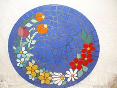 Mosaic Diy, Mosaic Glass, Mosaic Tiles, Stained Glass, Mosaic Designs, Mosaic Patterns, Mosaic Outdoor Table, Mosaic Pictures, Mosaic Flowers