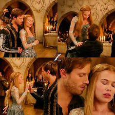 "#Reign 2x04 ""The Lamb and the Slaughter"" - Greer and Leith"