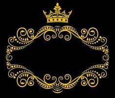 Retro frame with royal crown. Medieval frame with royal crown in retro style , Crown Royal, Smoke Wallpaper, Desktop Background Pictures, Retro Stil, Frame Clipart, Beauty Logo, Arte Floral, Flower Frame, Box Art