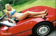 beauti women, hot sexi, daughter, hot corvettesexygirl3, car pose