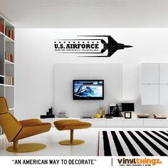 Wall Decals Air Force Armed Forces Integrity First Jet Airplane Vinyl Art Decal Sticker on Etsy, $26.95