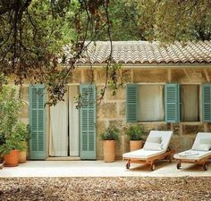 A Diary of Lovely: Hotel Predi Son Jaumell, Mallorca Adobe Haus, Design Rustique, Weekend House, Stone Houses, Tropical Houses, Cozy House, Architecture, Future House, Outdoor Living