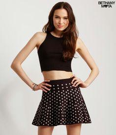 Aero Bethany Mota Collection Polka dot skirt