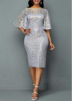 Sexy Dresses, Club & Party Dress Sale Online Page 7 Lace Dress Styles, African Lace Dresses, Latest African Fashion Dresses, Women's Fashion Dresses, Fashion Clothes, Elegant Dresses, Cute Dresses, Lace Sheath Dress, Sheath Dresses