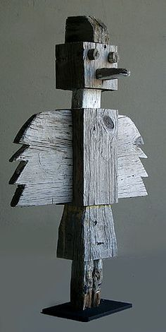 Maybe robots are the Modern Totems??  American Indian, Trading post totem