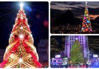 Estos Son Los 10 árboles De Navidad Más Bellos Y Famosos Del Mundo Arbol De Navidad Arbol De Los Deseos árbol De Lego