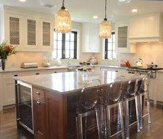 Regina Andrew Hanging Antique Glass Pendant, Transitional, kitchen, Dearborn Cabinetry