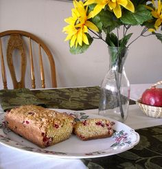 Best Cranberry Bread Ever | Flour On My Face