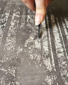 Hand-carved block prints by Lauren Crowe Block Prints, Printmaking, Hand Carved, Carving, It Is Finished, Instagram, Wood Carving, Printing, Sculptures