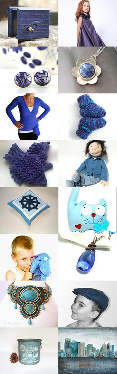 Midnight blue sky by Krisztina on Etsy--Pinned with TreasuryPin.com