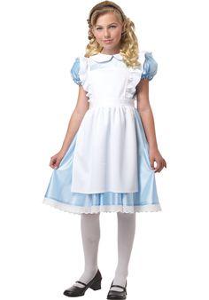 Alice in wonderland, Classic Kids Fancy Dress Costume - General at Escapade™ UK