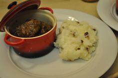 http://irischef.co.il/ קדרת בשר מהבילה - ביף בורגונין עם פירה ערמונים נימוח