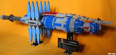 Babylon 5 is brilliant sci-fi, but it is woefully lacking in the LEGO department. Cool Lego, Cool Toys, Best Sci Fi Shows, Lego Tv, Amazing Lego Creations, Babylon 5, Lego Worlds, Lego Brick, Wow Products