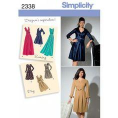 Simplicity patroon 2338 BB - Patronen