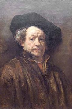 Self Portrait Rembrandt. High quality vintage art reproduction by Buyenlarge. One of many rare and wonderful images brought forward in time. I hope they bring you pleasure each and every time you look