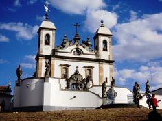 Basílica do Sr Bom Jesus de Matosinhos - Congonhas (MG)