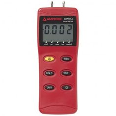 This excellent Amprobe MAN02-A Differential Pressure #Manometer measure pressure level, check valves, and control sensors in a pneumatic control environment. On Sale! Learn more: http://www.valuetesters.com/amprobe-man02-a-manometer-for-differential-pressure-1.html