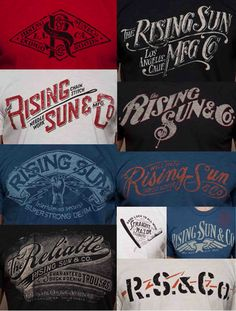 Mens Collections: RISING SUN VS RRL TEE GRAPHICS!!!