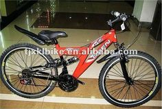 26 sports mountain bike 1.Hi-ten steel Frame2.Aluminum rim3.F R V Brake4.Saiguan F/R DERAILLEUR  Please follow us @ http://www.pinterest.com/wocycling/