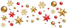 Christmas Decorations PNG Clipart Image
