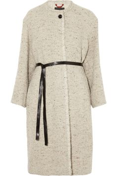 ISABEL MARANT Easton belted tweed coat $438.75 http://www.theoutnet.com/products/627445