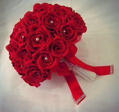 Buque de Rosas EVA Vermelho