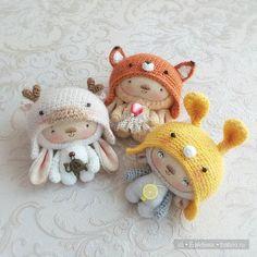 Авторские игрушки Ольги Нероденко / Изготовление игрушек своими руками / Бэйбики. Куклы фото. Одежда для кукол