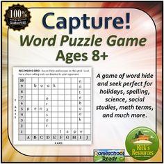 Word Game - Vocabulary