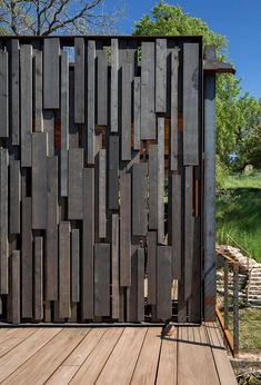 Boat Plans 686376799444316704 - Bunny Run Boat Dock – Summer Retreat by Andersson-Wise Architects Source by aliagalaurent Modern Fence Design, Wood Fence Design, Privacy Fence Designs, Gate Design, Rustic Design, Garden Fence Panels, Diy Fence, Fence Landscaping, Backyard Fences