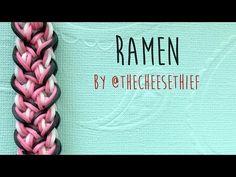 Rainbow Loom Bands Ramen Bracelet Tutorial